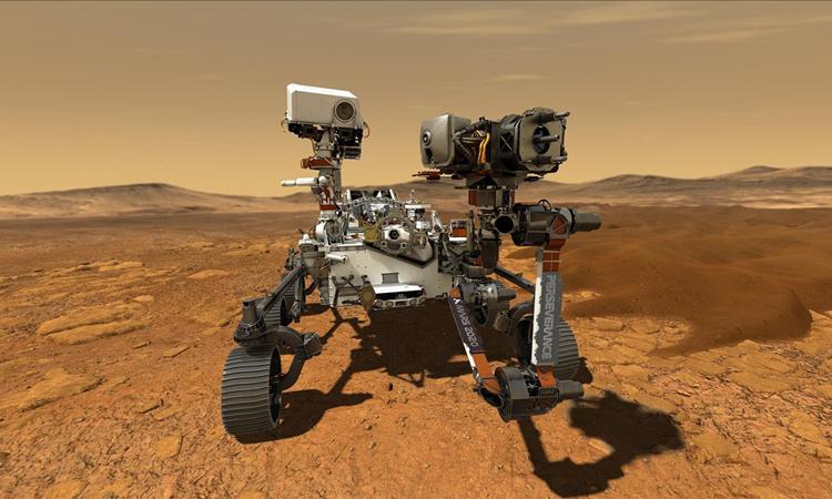 Robot NASA lần đầu tiên thu âm tiếng sao Hỏa