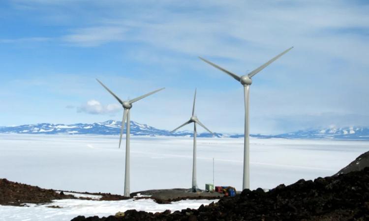 Tại sao turbine gió không đóng băng khi trời lạnh?
