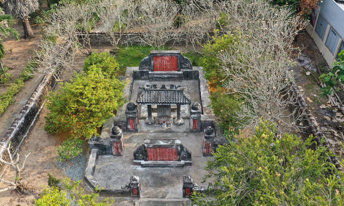 Lăng mộ của vị tướng 'khai quốc công thần' triều Nguyễn