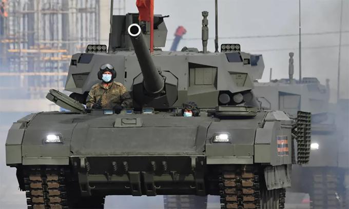 Tăng T-14 Nga có thể tự phát hiện mục tiêu