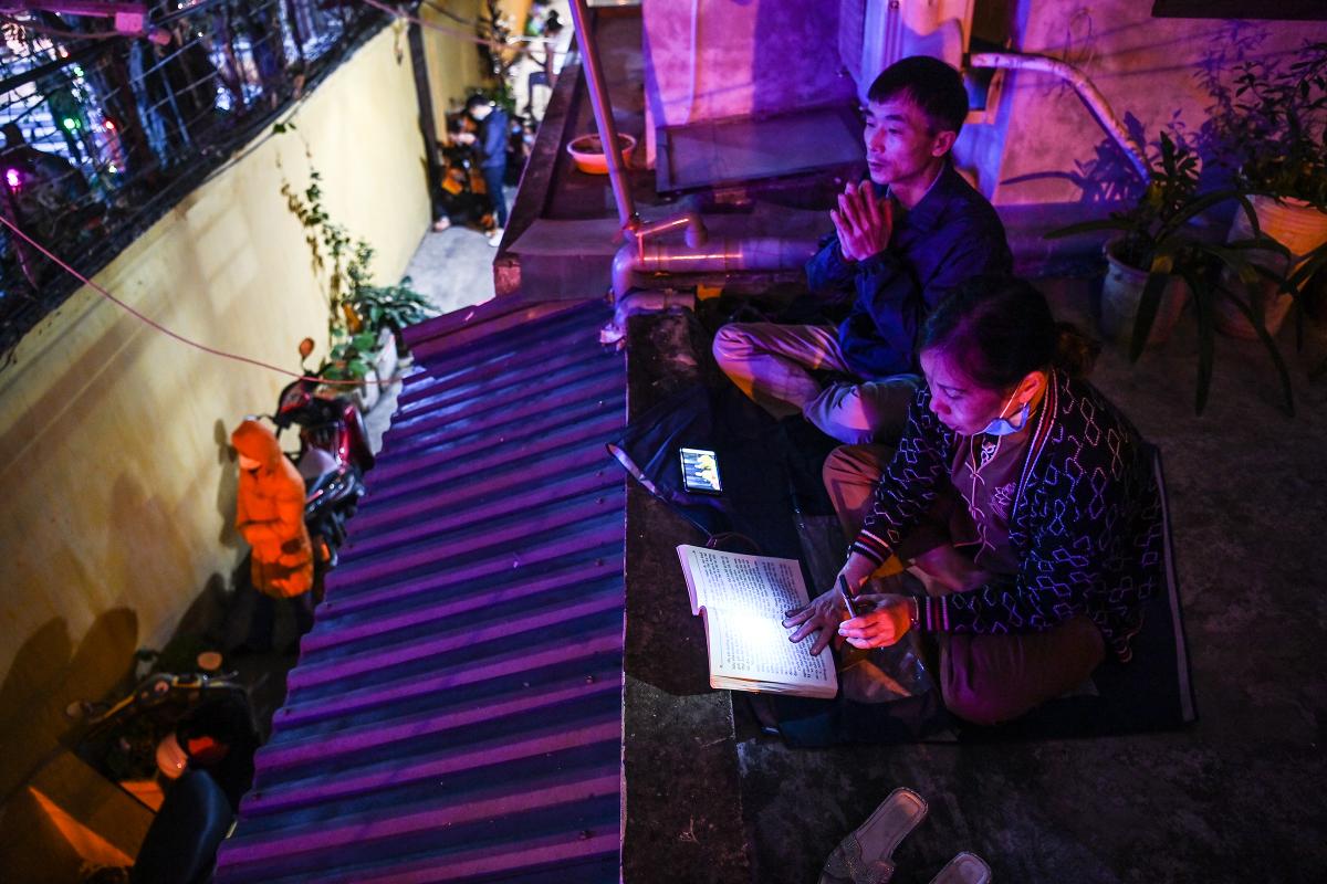 Chùa Phúc Khánh tổ chức cầu an trực tuyến
