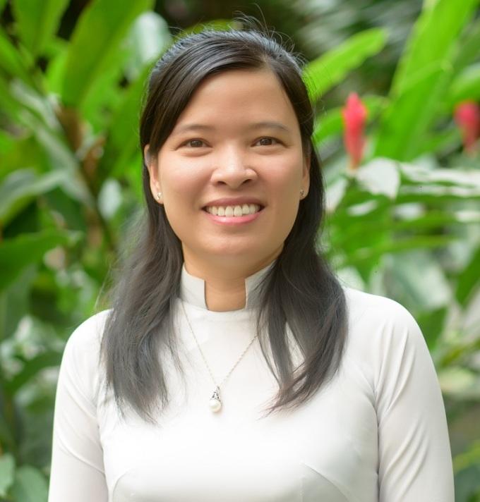 TS Phạm Thị Thu Hiền, khoa Kỹ thuật y sinh, Đại học Quốc tế, Đại học Quốc gia TP HCM. Ảnh: NVCC.