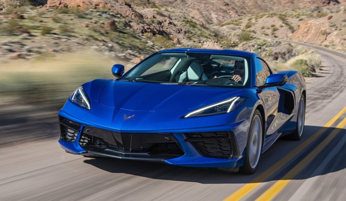 Nội thất gây tranh cãi, nhưng ngoại thất của Corvette C8 dường như chỉ khiến người đối diện mê mẩn. Ảnh: Chevrolet