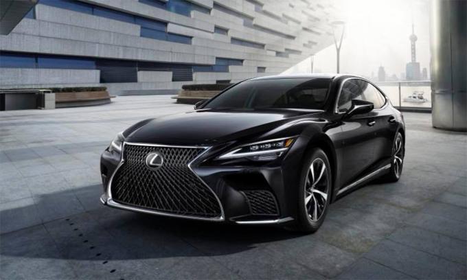 LS phiên bản mới. Ảnh: Lexus