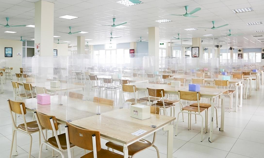 Trường học phân luồng để giãn cách học sinh