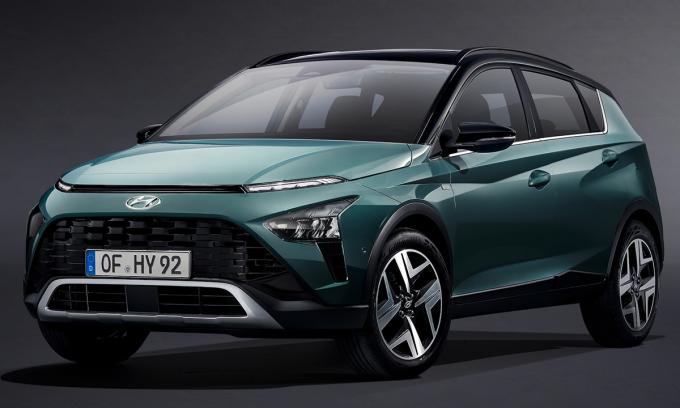 Bayon, mẫu crossover mới của hãng xe Hàn Quốc. Ảnh: Hyundai