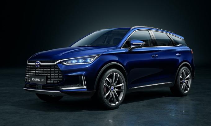 Tang là SUV điện 7 chỗ sẽ bán tại thị trường châu Âu. Ảnh: BYD