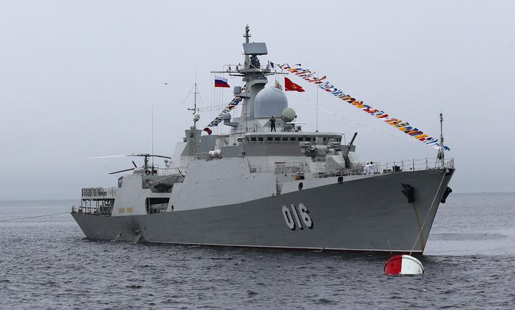 Việt Nam lần đầu cử chiến hạm thi đấu Army Games