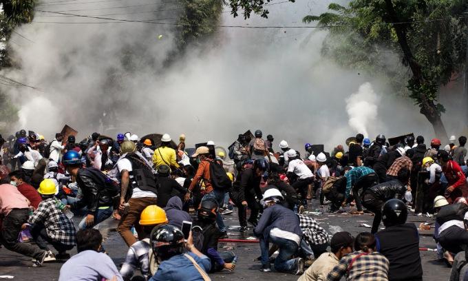 Nhân chứng kể về ngày 38 người chết trong biểu tình Myanmar