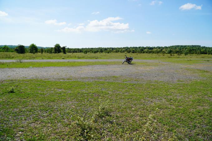 Khu đất dự kiến xây dựng dự án sân bay Phan Thiết ở xã Thiện Nghiệp. Ảnh: Việt Quốc