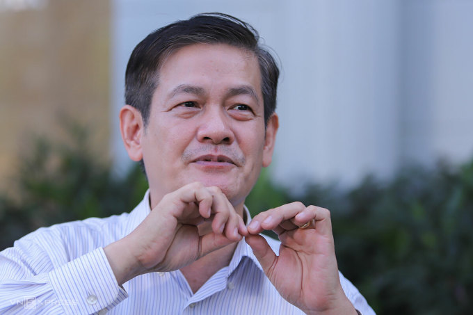 KTS Ngô Viết Nam Sơn cho rằng, Đà Nẵng cần có sự kết nối với các địa phương ở miền Trung. Ảnh: Nguyễn Đông.