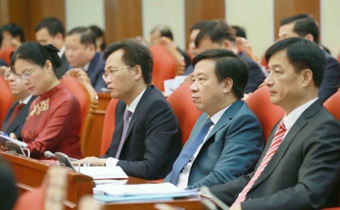 Đại biểu tham dự hội nghị Trung ương 2, khóa XIII. Ảnh: TTXVN