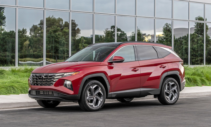 Tucson thế hệ mới ra mắt tại Mỹ. Ảnh: Hyundai