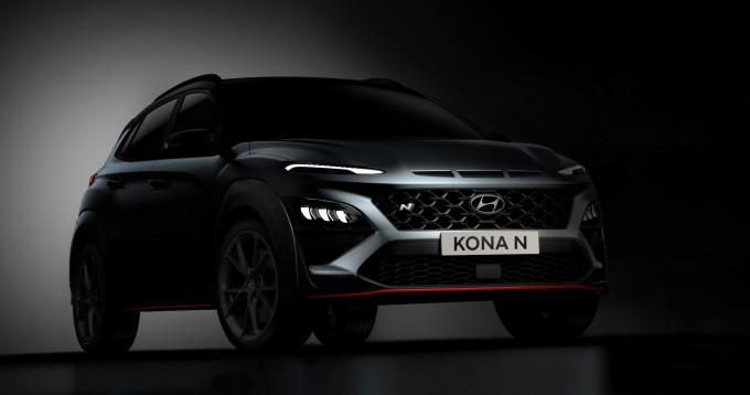 Ảnh teaser đầu tiên về Hyundai Kona N.