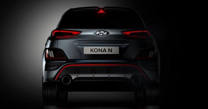 Thiết kế đuôi xe của Kona N.