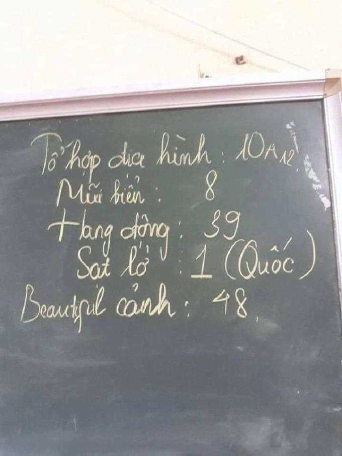 Loạt cách viết sĩ số lớp có một không hai - 4