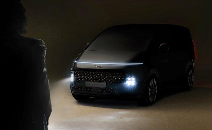 Staria - mẫu MPV mới của Hyundai lộ diện