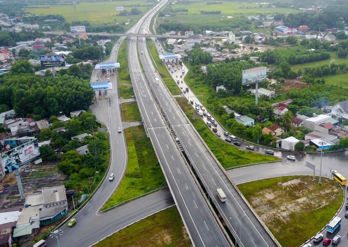 Cao tốc Dầu Giây - Liên Khương sẽ kết nối với cao tốc TP HCM - Long Thành - Dầu Giây hiện nay. Ảnh: Quỳnh Trần.