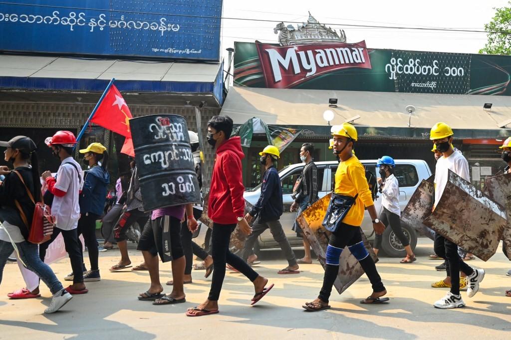 Cuộc biểu tình đẫm máu ở trung tâm công nghiệp Myanmar