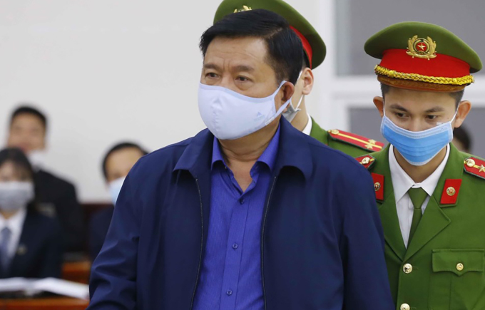 Bị cáo ĐInh La  Thăng. Ảnh: TTXVN