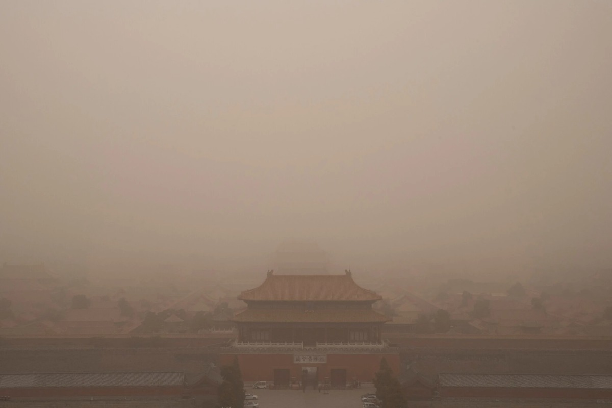 Cát bụi bủa vây Bắc Kinh