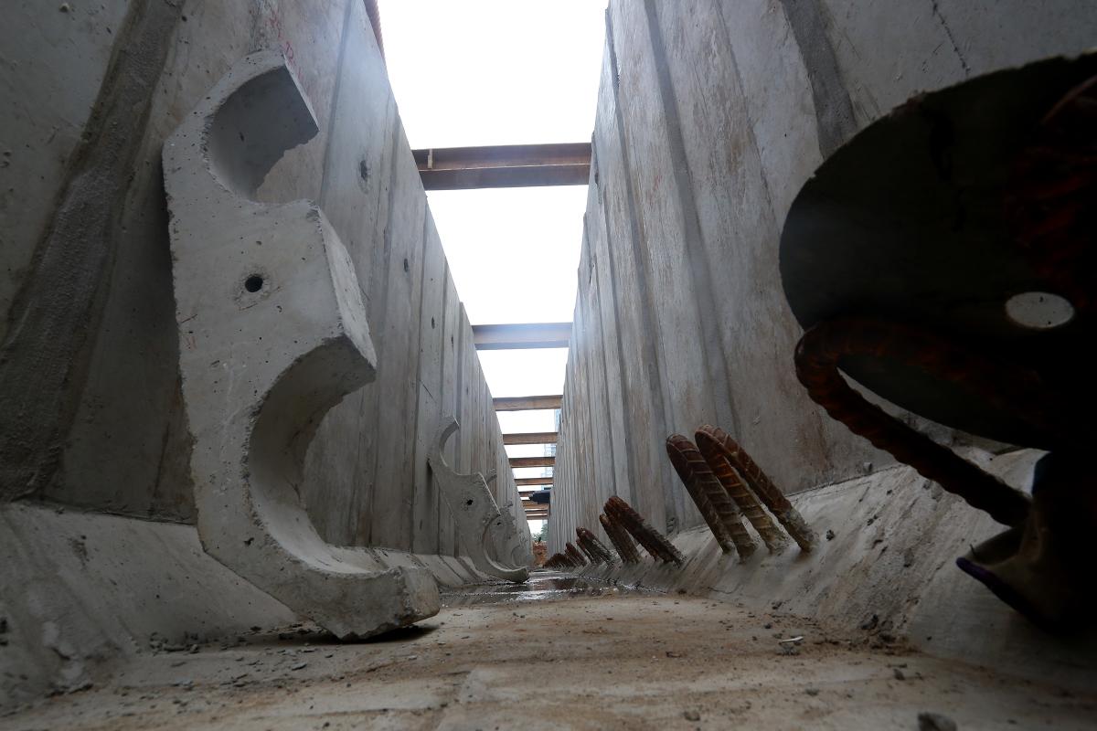 Công trường hai dự án giao thông 3.200 tỷ đồng ở thủ đô