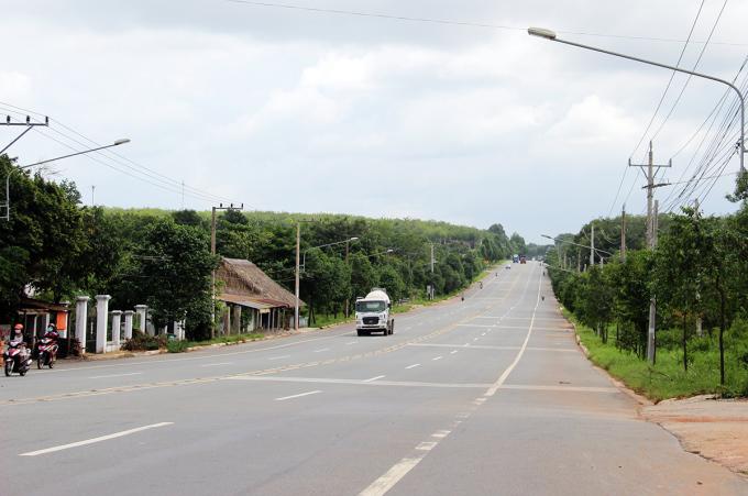 Cao tốc TP HCM - Bình Phước sẽ kết nối quốc lộ 13. Ảnh: Phước Tuấn.