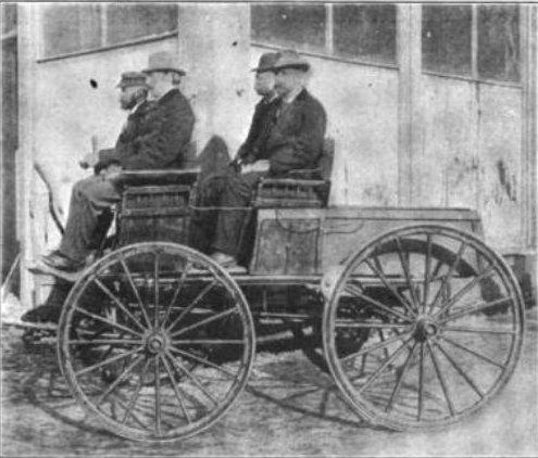 Chiếc xe điện của William Morrison. Ảnh tư liệu không xác định nguồn