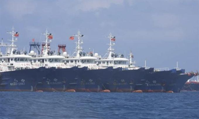 Việt Nam yêu cầu Trung Quốc chấm dứt vi phạm chủ quyền ở Biển Đông