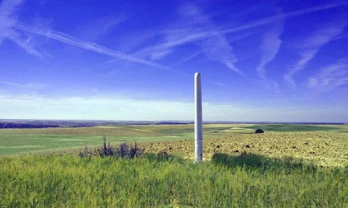 Mẫu turbine gió mới có nhiều ưu điểm so với turbine gió có cánh. Ảnh: Vortex Bladeless.