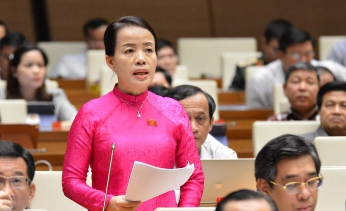 Bà Nguyễn Thị Kim Thúy (Thường trực Ủy ban về các vấn đề xã hội của Quốc hội). Ảnh: Hoàng Phong