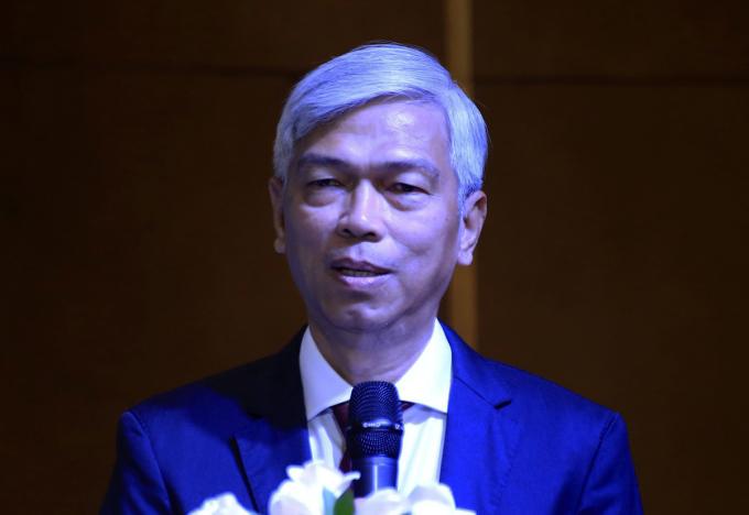 Phó chủ tịch UBND TP HCM Võ Văn Hoan phát biểu tại hội thảo. Ảnh: Hữu Công.