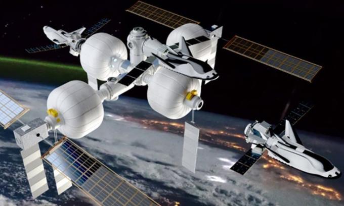 Kế hoạch phóng trạm vũ trụ có khoang bơm phồng