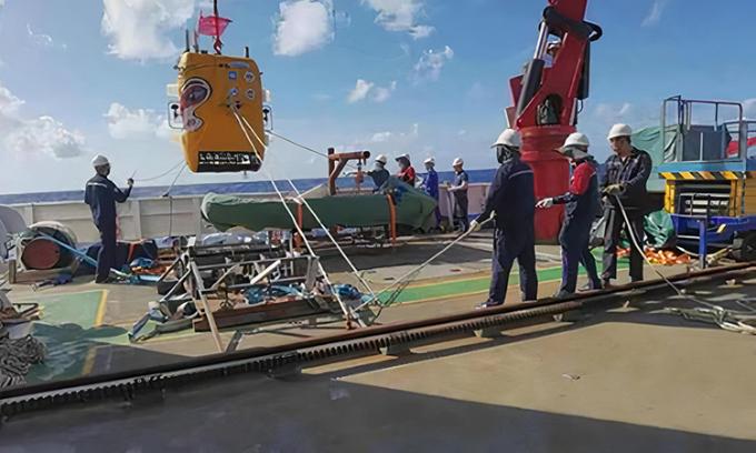 Tàu Wukong hoàn thành cuộc thử nghiệm thứ ba hôm 1/4. Ảnh: CNS.