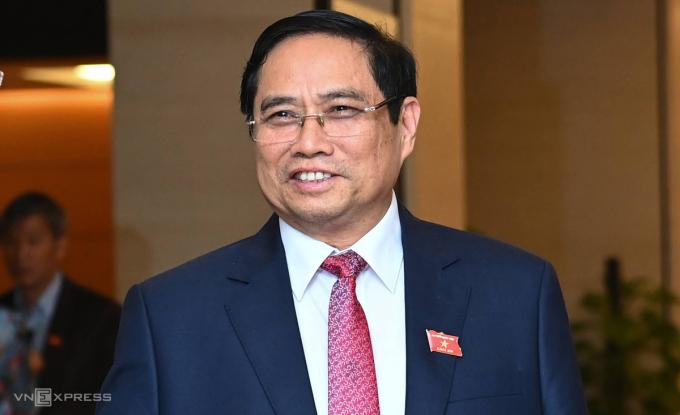 Ông Phạm Minh Chính giữ chức Thủ tướng