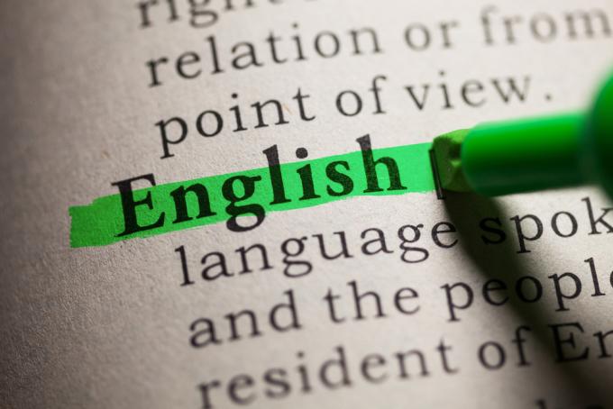 Những điều thú vị về tiếng Anh