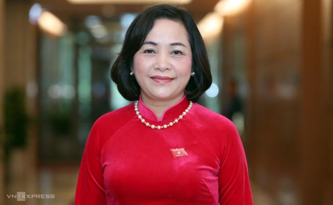Bà Nguyễn Thị Thanh, Phó trưởng ban Công tác đại biểu. Ảnh: Giang Huy