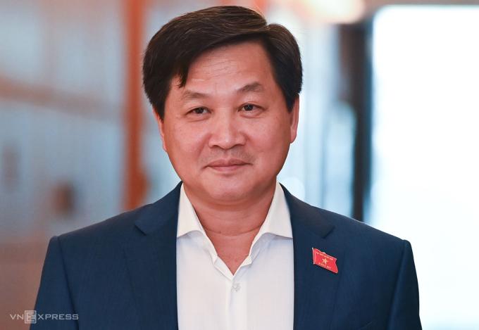 Tổng thanh tra Chính phủ Lê Minh Khái được đề cử làm Phó thủ tướng. Ảnh: Giang Huy