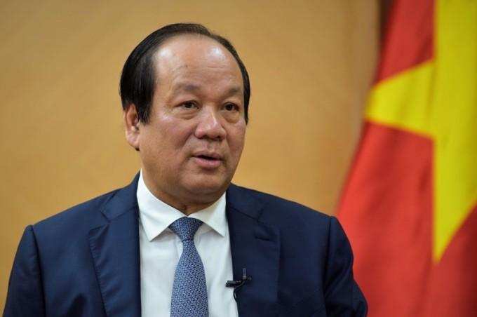 Bộ trưởng, Chủ nhiệm Văn phòng Chính phủ, người phát ngôn Chính phủ Mai Tiến Dũng. Ảnh: VGP