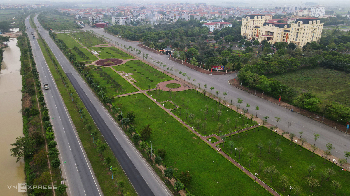 Tuyến đường 15 km nối Hà Nội với Vĩnh Phúc