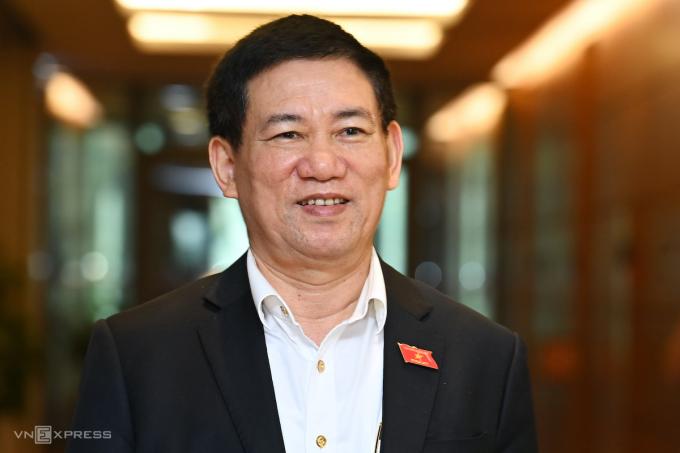 Tân Bộ trưởng Tài chính Hồ Đức Phớc. Ảnh: Giang Huy