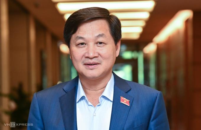 Tân Phó thủ tướng Lê Minh Khái. Ảnh: Giang Huy