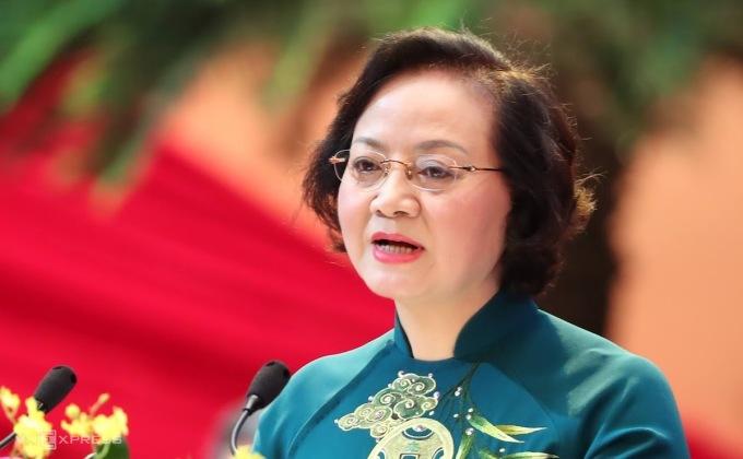 Tân Bộ trưởng Nội vụ Phạm Thị Thanh Trà. Ảnh: Hoàng Phong