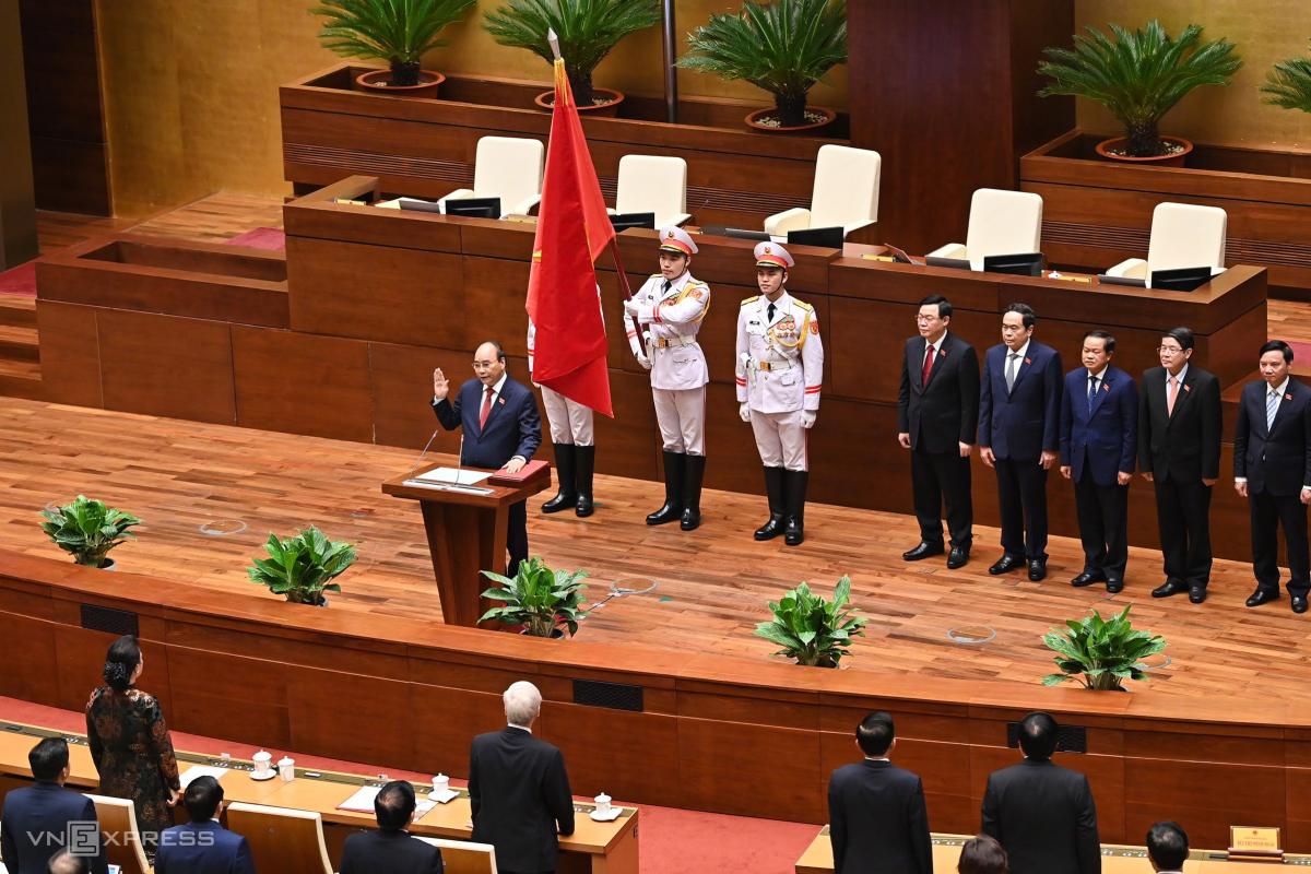 Nhân sự được bầu, phê chuẩn tại kỳ họp Quốc hội