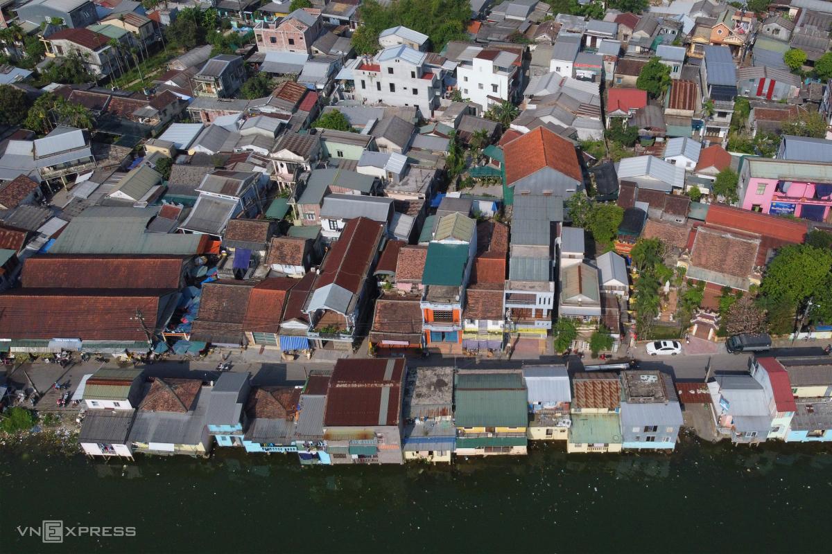 Hiện trạng khu quy hoạch hai bờ sông Hương