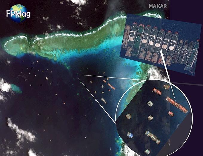 Philippines - Mỹ thảo luận đội tàu Trung Quốc ở Biển Đông