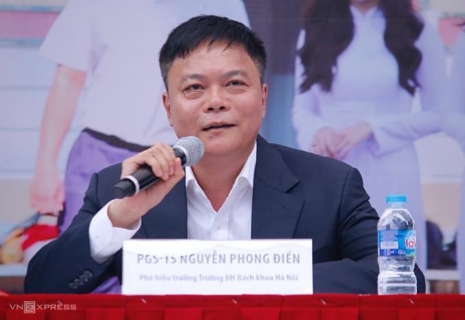 PGS TS Nguyễn Phong Điền, Phó Hiệu trưởng Đại học Bách khoa Hà Nội. Ảnh: Thanh Hằng