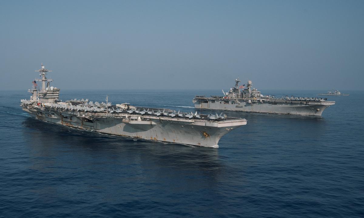 Mỹ có thể điều thêm tàu đến Biển Đông