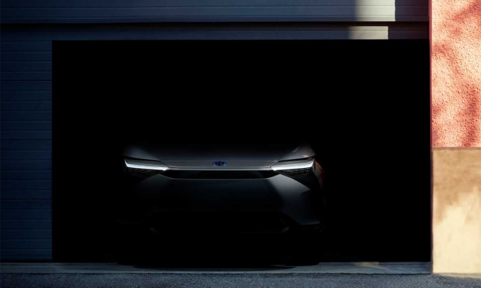 Mẫu SUV điện của Toyota lộ diện. Ảnh: Toyota