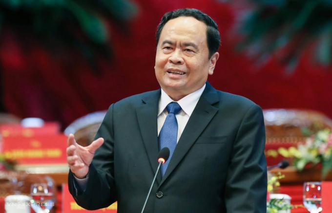 Ông Trần Thanh Mẫn, Phó chủ tịch Quốc hội. Ảnh: Giang Huy